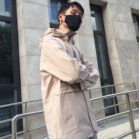 【乐享户外 无惧阳光】诺诗兰春夏男户外防水透气潮牌时尚单层旅行冲锋衣GS075A01