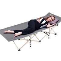 医院陪护床沙滩床户外折叠床单人床 加固钢架简易床便携午休床办公室午睡床 加宽行军床
