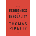 THE ECONOMICS OF INEQUALITY《不平等经济学》托马斯・皮克迪著,《21世纪资本论》作者新力作.皮凯蒂一直研究财富不平等现象,2002年他获得法国青年经济学家奖!当当5星级学习产品