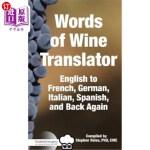 【中商海外直订】Food & Wine Guru's Words of Wine Translator: Englis