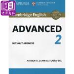 【中商原版】剑桥CAE考试2 真题集:学生书(无答案)英文原版 Cambridge English Advanced
