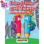 【中商海外直订】Learn to Draw Cool Things: Activities for Kids Acti