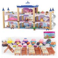 小猪佩琪过家家佩奇大礼盒别墅女孩公主圣诞礼物芭比娃娃套装玩具