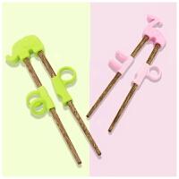 幼儿童练习筷小孩子小学生学习快训练宝宝辅助矫正器纠正拿握筷子