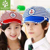 韩国KK树新款春夏款男女儿童帽子潮版儿童鸭舌帽男童帽女童鸭舌帽