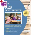 【中商海外直订】NES English Language Arts Study Guide 2019-2020: Te