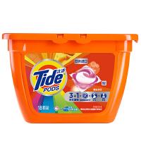 汰渍3合1洗衣凝珠焕彩护色356克(18颗)盒