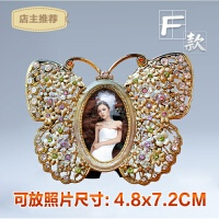 家用金属相框摆台个性创意 3 5 6六寸像框架欧式画框照片框相片框相架SN7190 尺寸在颜色分类中选择