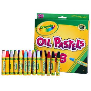 当当自营Crayola 绘儿乐 28色油画棒 52-4628