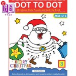 【中商海外直订】Dot to Dot: Christmas Dots Puzzle and Activity Book