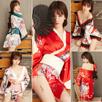 情趣内衣服激情套装骚开档透明血滴子日本制服诱惑超骚女性感和服
