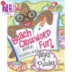 【中商海外直订】Beach Crossword Fun No.1: Tropical, Aquatic and Nau