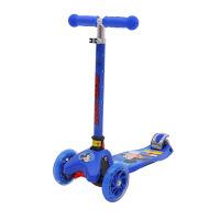 迪士尼儿童折叠滑板车可升降闪光轮2岁3-6岁4小孩摇摆车冰雪奇缘 SD13011-M蓝色米奇 当当自营
