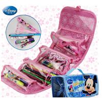 迪士尼画画袋儿童文具创意绘画套装小学生水彩笔工具包美劳派