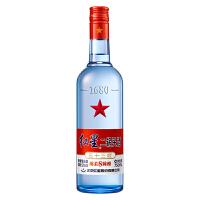 红星二锅头酒53度绵柔8陈酿蓝瓶清香型白酒750ml单瓶装