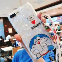 潮牌软壳苹果7手机壳 6S全包X网红个性8Plus防摔套子硅胶超薄挂绳