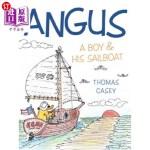 【中商海外直订】Angus: A Boy and His Sailboat