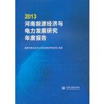 2013河南能源经济与电力发展研究年度报告