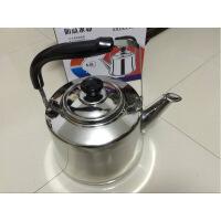 304不锈钢燃气烧水壶加厚 家用茶壶鸣笛 电磁炉煤气灶热水壶3L4L