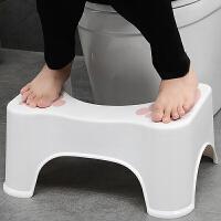 �R桶�|�_凳蹲坑神器蹲凳�和�坐便凳浴室如��蹲便凳子孕�D老人防滑塑料凳子增高如��凳 �色�S�C
