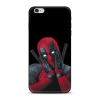 漫威Marvel死侍iphone7/8x苹果5se手机壳6splus保护套时尚男网红