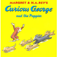 Curious George and the Puppies好奇猴乔治和小狗 9780395912157