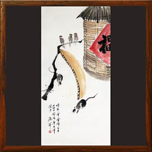 写意画《丰硕》于洪顺,实力派画师 【R4370】