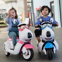 儿童电动摩托车三轮车小孩玩具车宝宝电瓶车贝肯熊大号童车可坐人定制