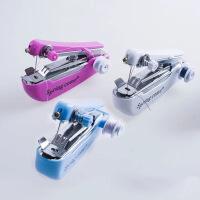 微型手动缝纫机迷你家用便携袖珍小型手持缝纫机简易 图片色