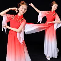 古典舞服装女飘逸成人伞舞演出服新款雪纺中国风舞蹈服广场舞套装