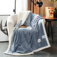 厚毛毯被子珊瑚绒毯子冬季双层加厚保暖午睡毯冬用沙发盖毯