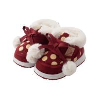 儿童棉鞋加绒冬季加厚冬鞋1-3岁南海女孩鞋子外穿保暖