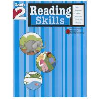 Reading Skills: Grade 2 (Flash Kids Harcourt Family Learnin