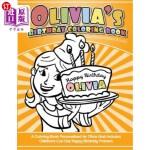 【中商海外直订】Olivia's Birthday Coloring Book Kids Personalized B