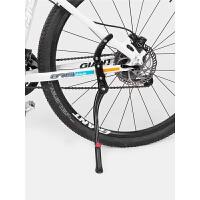 山地自行车铝合金支架可调节脚撑支撑停车架骑行单车配件