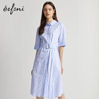 [19-20日直降价:239]伊芙丽衬衫职业通勤连衣裙