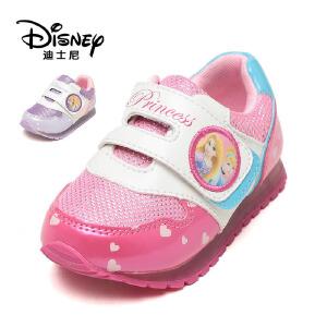鞋柜/迪士尼春季甜美可爱女童百搭攀运动旅游鞋