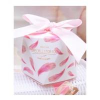 新款欧式钻石喜糖盒 婚礼糖盒 森林系创意喜糖袋结婚用品厂家