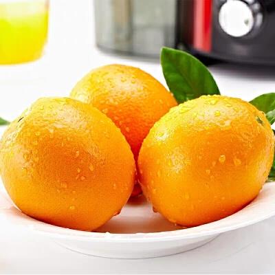 【当当基地直采】正宗赣南脐橙含箱5斤装 果径75-80mm精品果 包邮 味甜多汁 丰富维C 老少皆宜