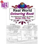 【中商海外直订】Real World Colouring Books Series 55