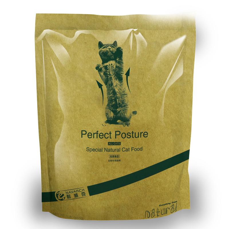 耐威克 高级天然成幼猫粮 主粮成猫粮 450g全国包邮满199-20