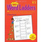 英文原版 每日单词阶梯练习,幼儿园-1年级 Scholastic 学乐出版社 Daily Word Ladders,