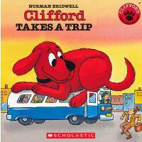 Clifford Takes A Trip (Audio)学乐有声读物:大红狗去旅行(书+CD)ISBN9780545