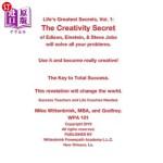 【中商海外直订】Life's Greatest Secrets, Vol. 1: The Creativity Sec