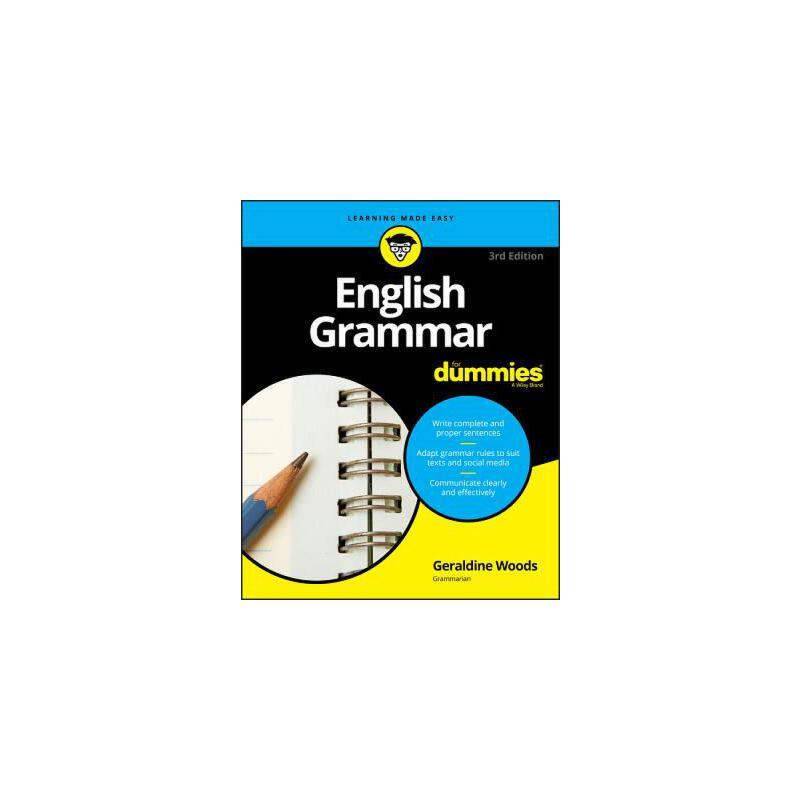 【预订】English Grammar For Dummies 预订商品,需要1-3个月发货,非质量问题不接受退换货。