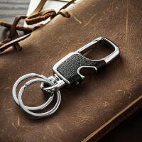 简约男士腰挂钥匙扣创意汽车钥匙链挂件钥匙圈环锁匙扣