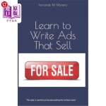 【中商海外直订】Learn to Write Ads That Sell: The sale is carried o
