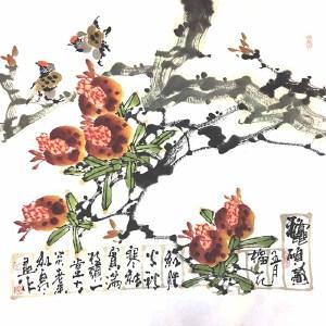 青年实力派画家,被授予陶瓷工艺美术大师,景德镇青年画院院长白羽(硕果)