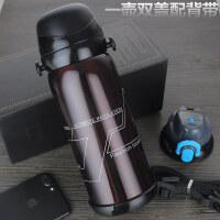 不锈钢真空保温杯水杯户外运动水瓶创意礼品大容量保温壶 800ML