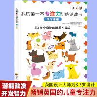 我的第一本专注力训练游戏书:图片谜题 3-6岁幼儿学前培养儿童专注力训练全脑开发思维游戏提高启蒙认知书 提高孩子思维逻辑